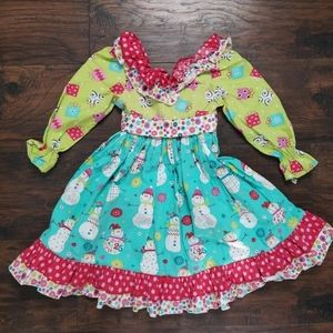 JELLY the PUG Joy Christmas Holiday dress 3T